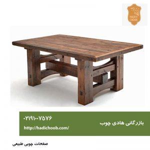 کاربرد صفحات چوبی طبیعی